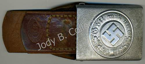 My Police Buckle by RS&S and Tab