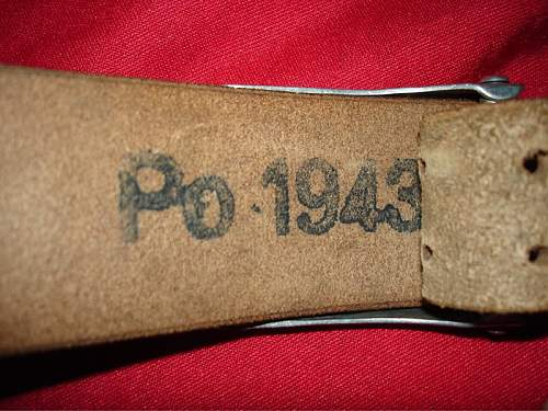 Gendarmerie Polizei Buckle - JMO 1941