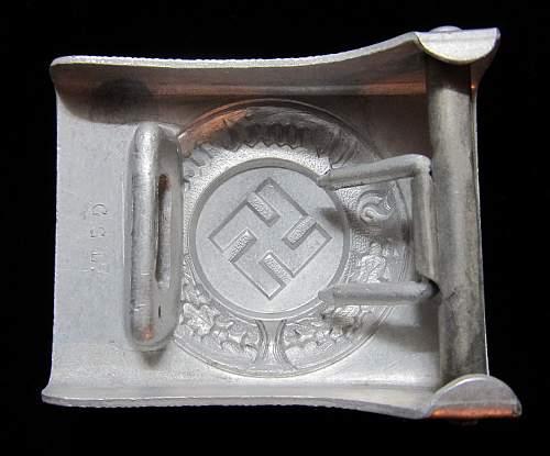 Police Belt Buckle G.G.L