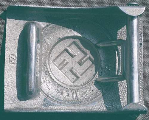 Police Belt Buckle Wiedmann