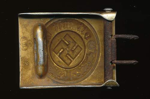 Water Police belt buckle