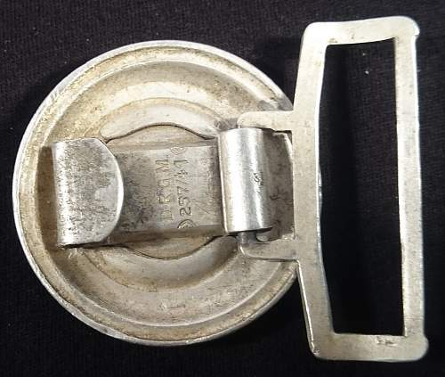 Police officer buckle and 3 usual ones. Good or bad?