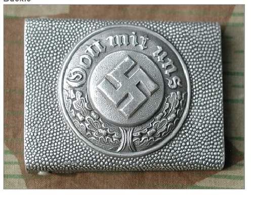 Fake Police Buckles