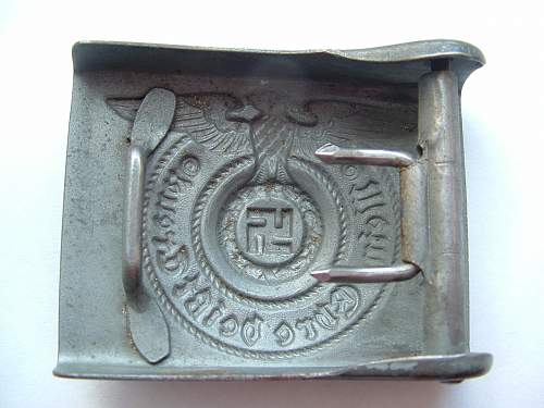 Polizei belt and buckle - good or fake