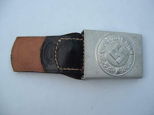 Maurer Police Belt Buckle. Real or fake?
