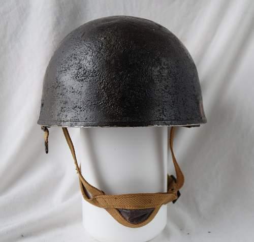 post WWII British para helmets