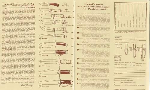 Vietnam era Dan Dennehy custom Combat knife Green Berret