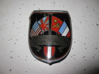 International Patrol Post War Vienna Arm Badge