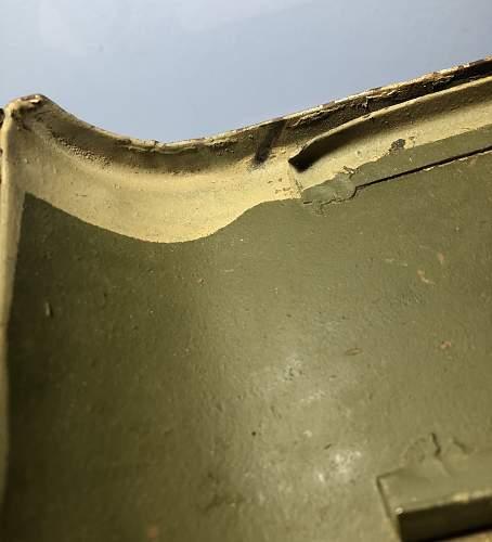 Israeli Maxim/PKM 250 round ammo box