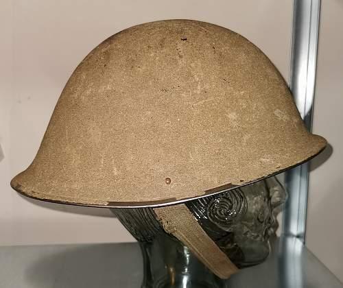British MKIV Turtle Helmet in Desert Tan