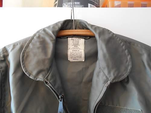 RNZAF flyer's jacket; CWU-36/P 1981