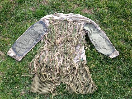 Usmc sniper school ghillie suit