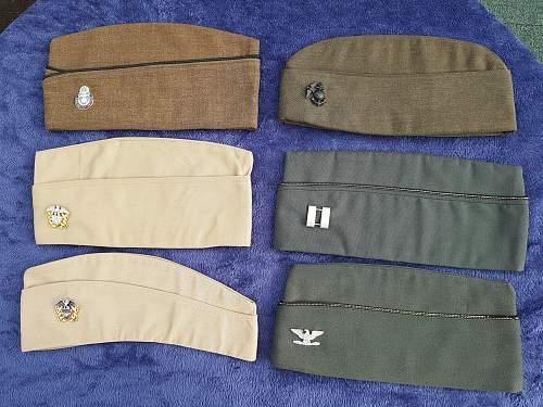 A few U.S. Garrison caps from Ebay