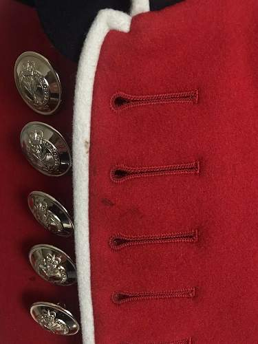 1970's welsh guards tunic 1959 pattern