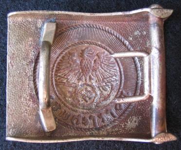 Enlisted Postschutz buckles