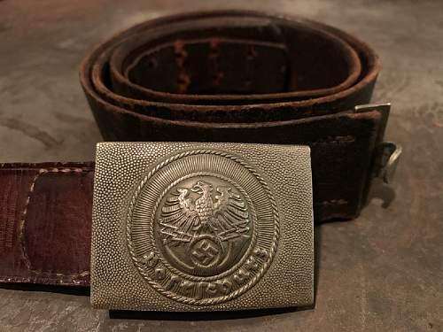 Postschutz Belt & Buckle