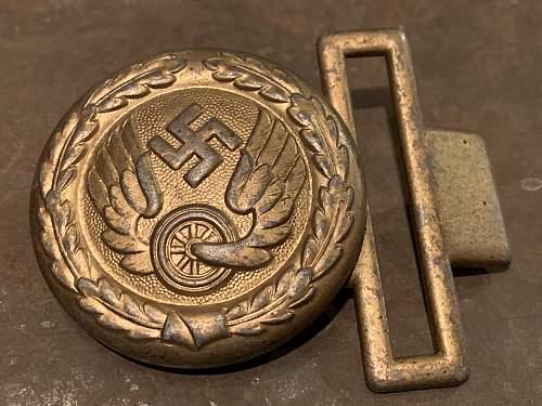 Deutsche Reichsbahn Buckle- Zinc