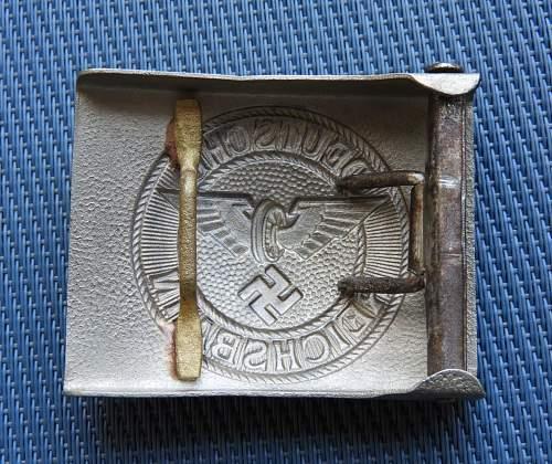 Reichsbahn buckle