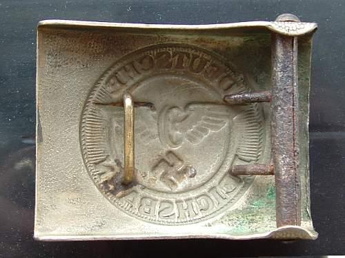 New buckle Bahnschutz