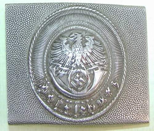 Postschutz Alu buckle
