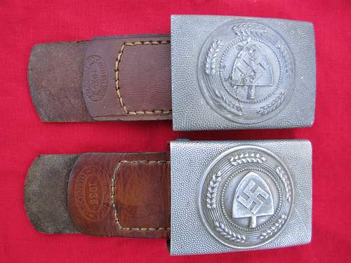 Two tabbed  RAD buckles for opinion please