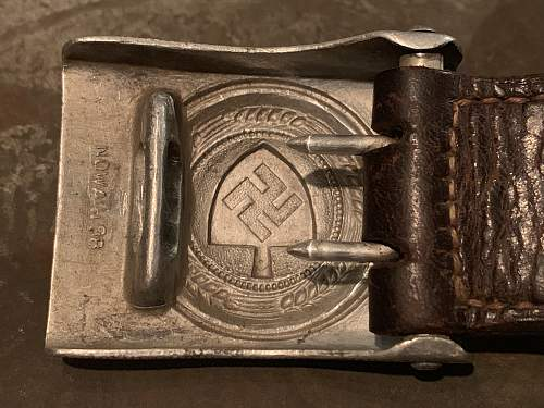R.A.D. Buckle with Tab - NOWAH 38