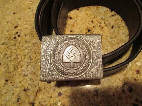 RAD buckle & Belt Set - marked