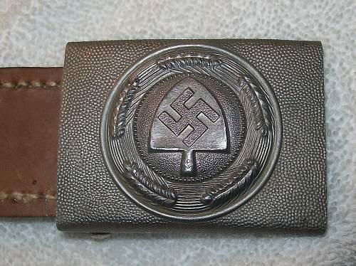 Reichs Arbeits Dienst JFS Minty
