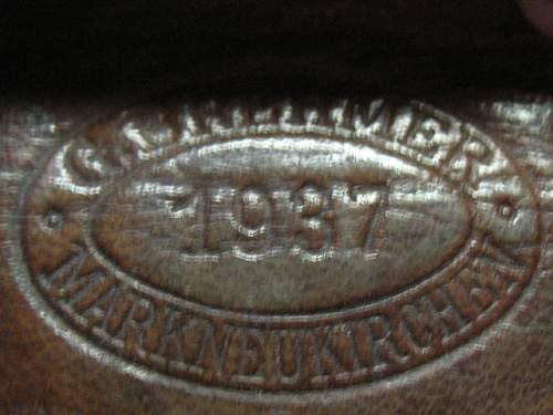 1936-1939 RAD buckles