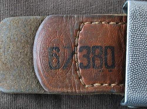 RaD Buckle marked 6/380