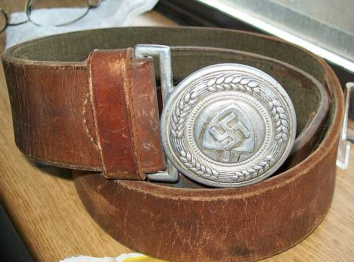 Rad officer belt with buckle