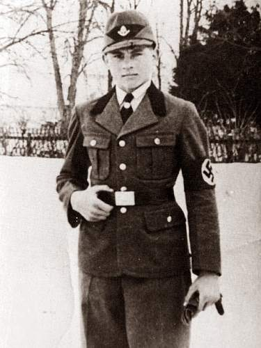 Click image for larger version.  Name:A young Michael Wittmann in the uniform of the Reichs Arbeitsdienst (RAD).jpg Views:47 Size:65.6 KB ID:945797