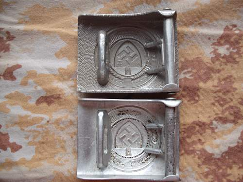two RAD buckles