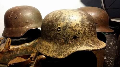Winter m40 helmet