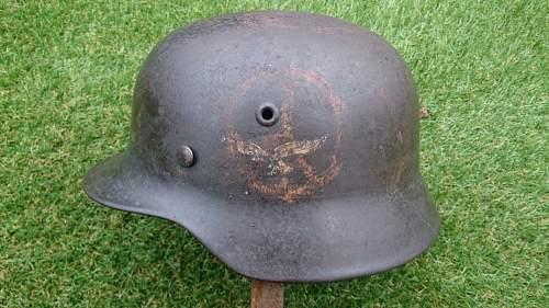 Luftwaffenhelm condition?