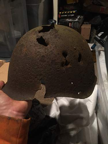 Another grave helmet for the collection