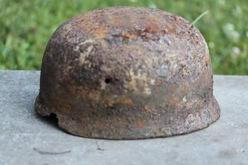 M38 helmet in relic condition