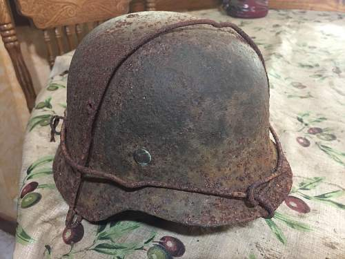 cool old helmet