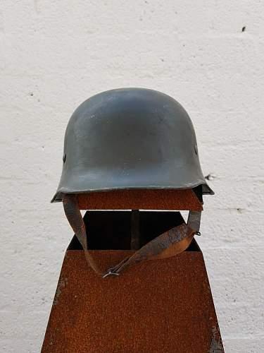 Origial M34 Police Helmet?