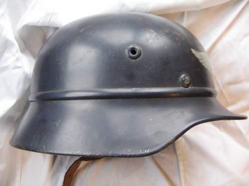 M40 luftschutz helmet.