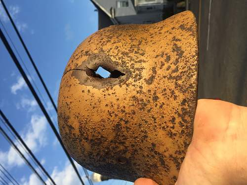 """Relic """"Italian"""" camo helmet"""