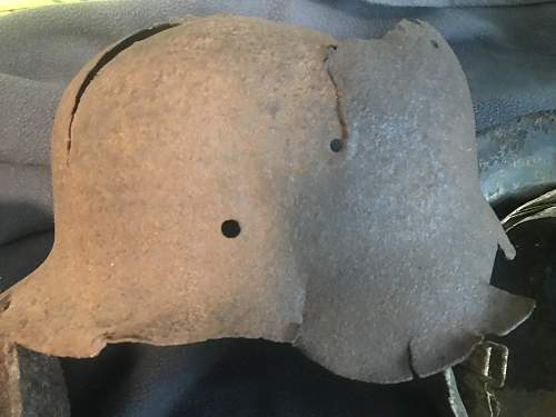Relic Helmets From The Eastern & Western Fronts