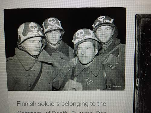 Who can tell me about this helmet Re-used in Finland - Finnish winterwar 1939