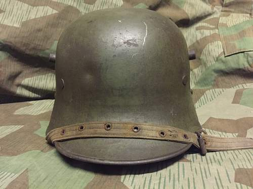 Need help with my M17 Helmet badges