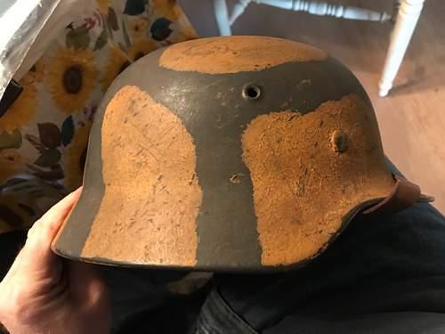 Luftwaffe Helmet Authenticity Needed