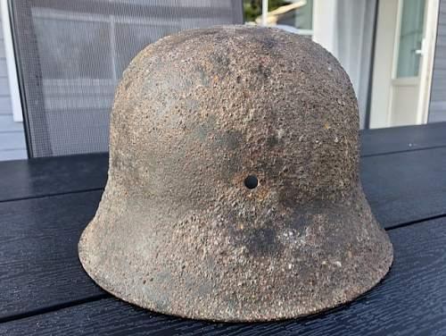 SS m42 relic helmet help!