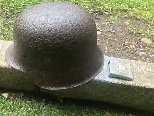 Relic M42 SD Heer helmet with Heer Buckle