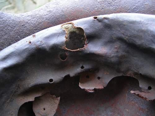 My first stahlhelm- relic M42