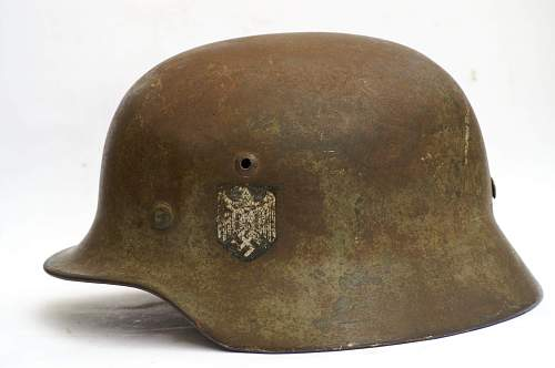 My first stahlhelm- relic M42