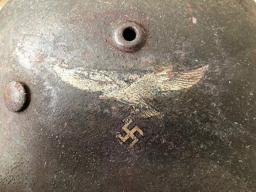 Luftwaffe M40 Decal Uncovered